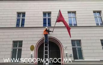 جمعية النخيل لمغاربة المهجر تستنكر إقدام متطرفين على نزع العلم الوطني من القنصلية المغربية ببرلين